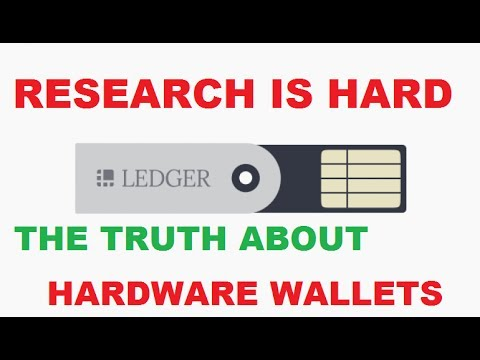 RESEARCH IS HARD THE TRUTH ABOUT HARDWARE WALLETS
