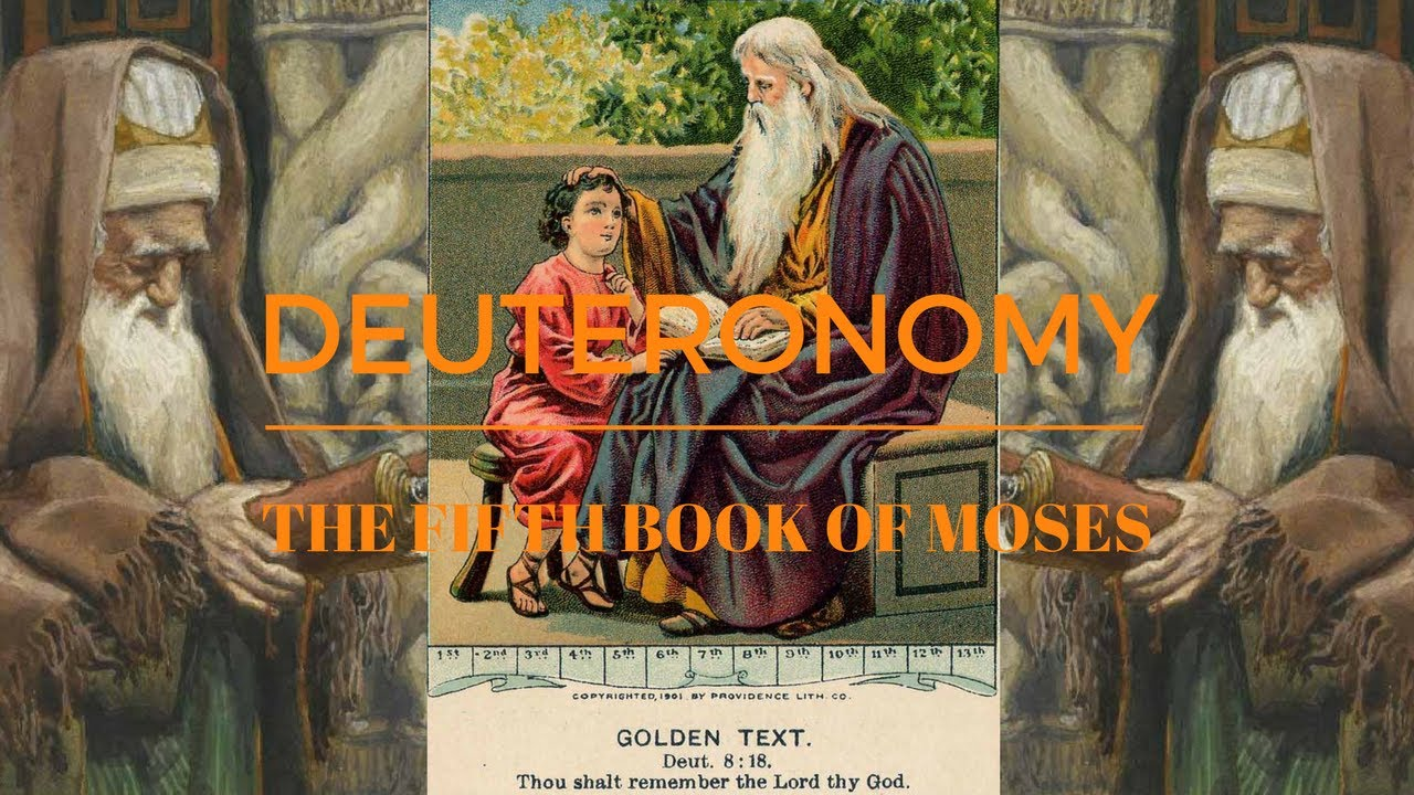 deuteronomy the fifth book of The fifth of the five books of moses, the book of deuteronomy primarily contains moses' last will and testament to the children of israel as they are poised to.