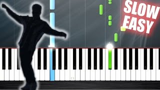 Bruno Mars - That's What I Like - SLOW EASY Piano Tutorial by PlutaX