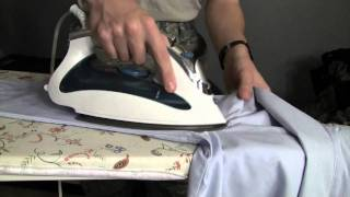 How To Iron A Long Sleeve Blues Uniform