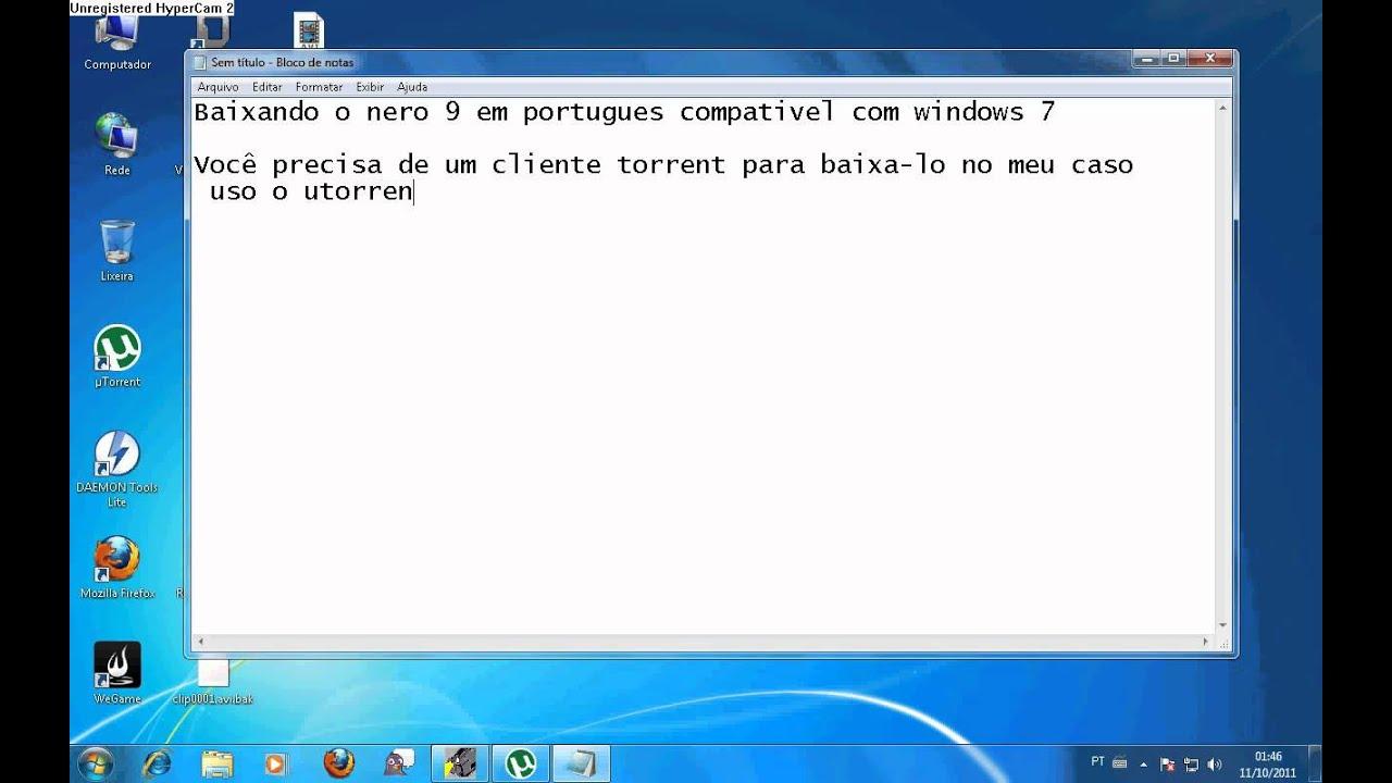 nero 8 compativel com windows 7