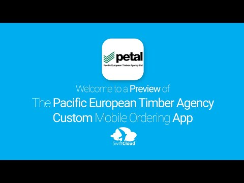 Pacific European Timber Agency - Mobile App Preview - PAC597W