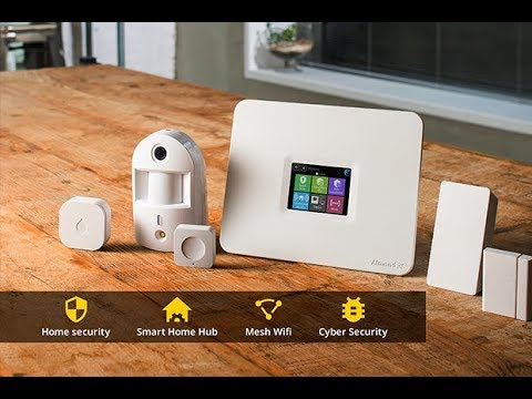 almond guard self arming home security system youtube. Black Bedroom Furniture Sets. Home Design Ideas