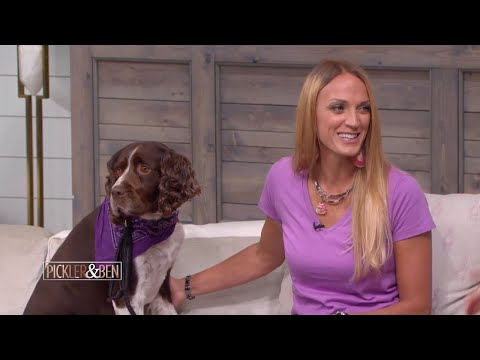 This Amazing Woman Carried an Injured Dog for 6 Hours to Save His Life - Pickler & Ben