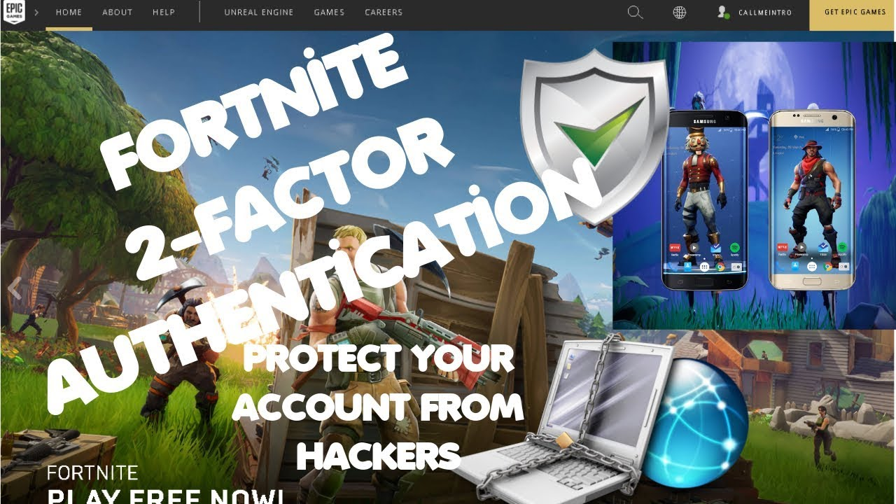 how to setup fortnite 2 factor authentication protect your account from hackers scammers - how to turn on two factor authentication fortnite xbox