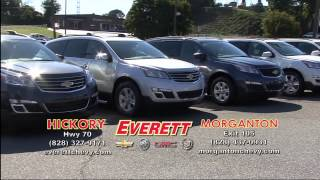 Two Locations | Everett Chevrolet Buick GMC Cadillac | Hickory NC and Morganton NC