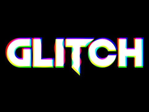 Photoshop Tutorials - Glitch Text Effect