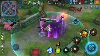 Main game moba HEROES ARENA pakai  sylvis