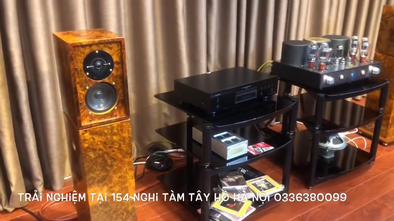 Bán Hệ Thống Audio T96  (Amply 300b, Loa LS3-5 ,CD DENON AL 32)