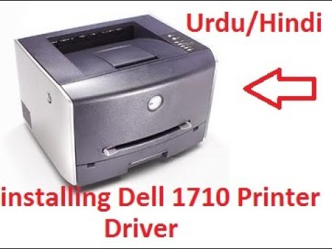 How To Download & Install Dell 1710 Printer Driver