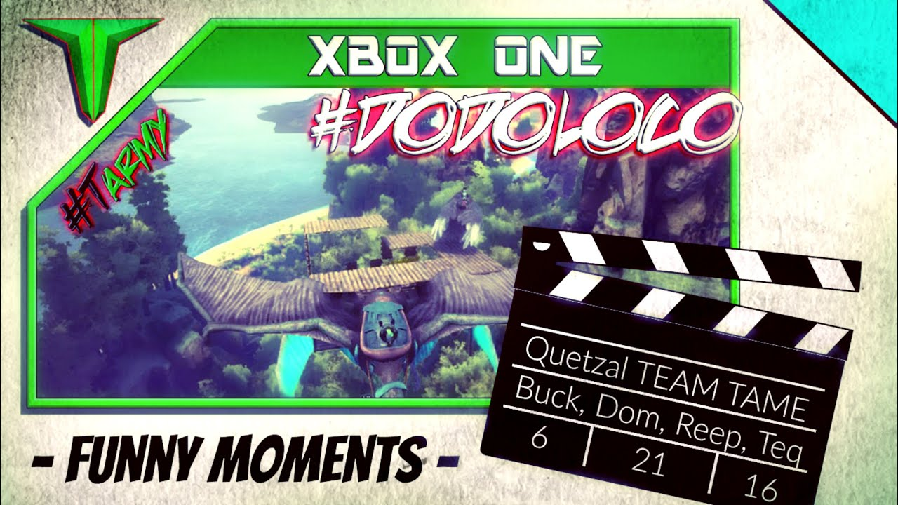 """Download QUETZ TAME """"BLOOPERS"""" w/Tequilayed, LoadedCrysis, and Buckaroo (ARK: Survival Evolved - #DODOLOCO)"""