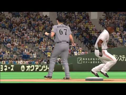 Professional Baseball Spirits 2011 (PS3) (Tigers Pennant Mode) Game #36 - Tigers @ Giants
