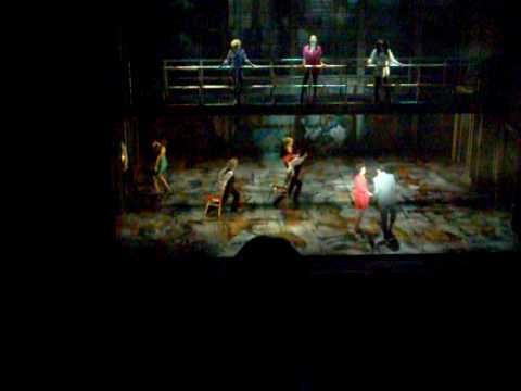Flashdance The musical Liverpool 29th january 2009
