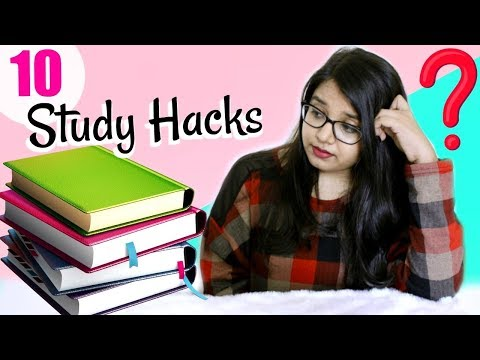 10 STUDY HACKS to get A grades | Finals Survival Guide