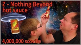 12-yr-old eats Z - Nothing Beyond (4 million Scoville) : Hot Sauce Review, Crude Brothers