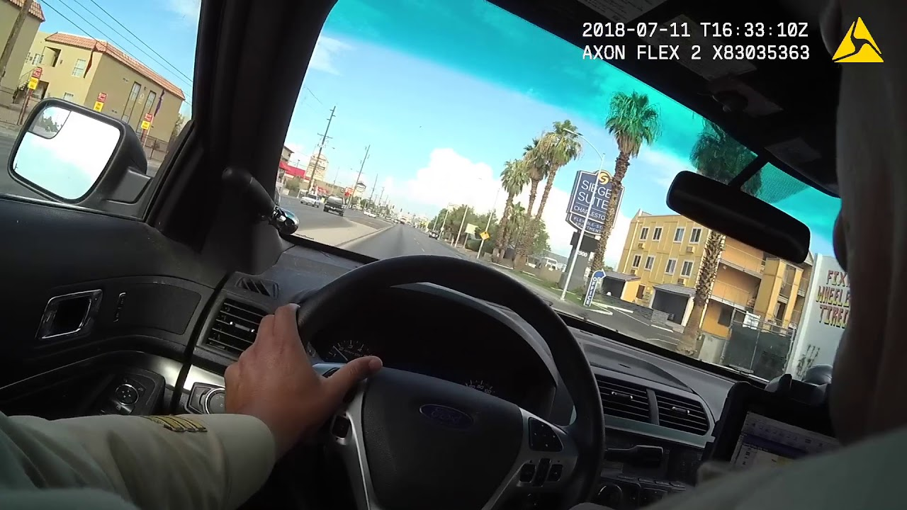 Wild Las Vegas shootout caught on officer's body camera video