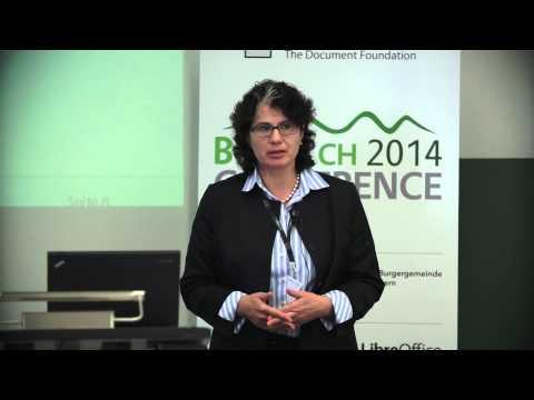 Jutta Kreyss: Einsatz von LibreOffice bei der Landeshauptstadt München