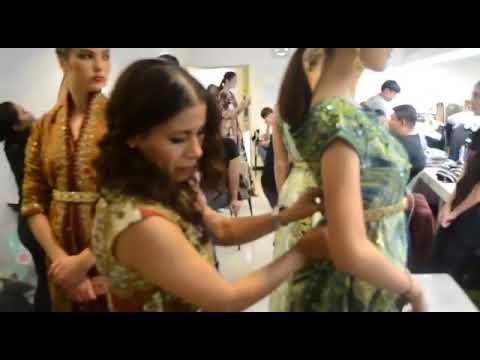 Le caftan marocain à l'honneur à la Fashion Week de Bangkok La styliste El batoul CAINALLAH