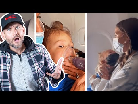 American Airlines BOOTS BABY having ASTHMA ATTACK for not wearing mask