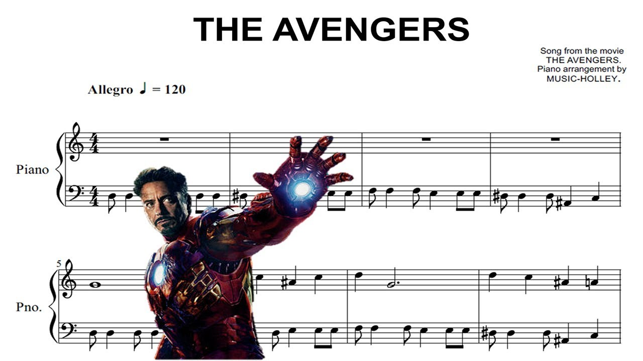 how to play avengers theme on piano
