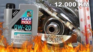 Liqui Moly Special Tec V 0W20 - 12.000km Test tarcia 100°C 2kg