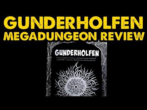 Gunderholfen: OSR DnD Megadungeon Review