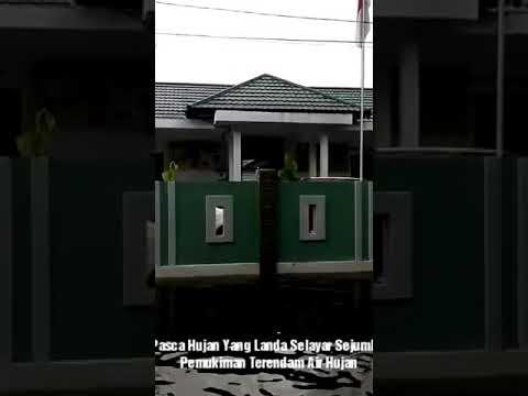 Video : Aspol Benteng Selayar Terendam Air Hujan