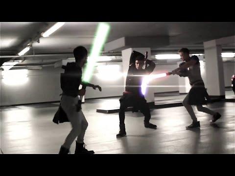 Juan  Lightsaber Fight  Star Wars Fan Made LCC