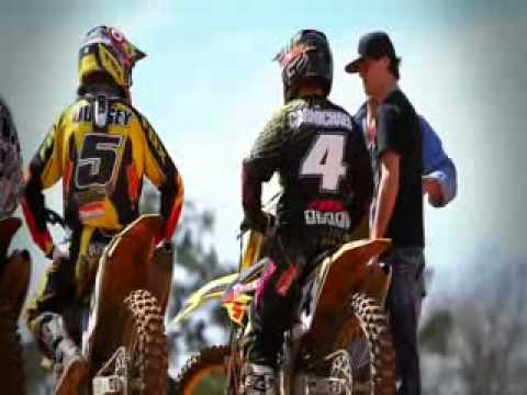 Ryan Dungey Traning With Ricky Carmichael 2010