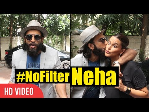 Crazy Ranveer Singh With Hot Neha Dupia | #NoFilterNeha