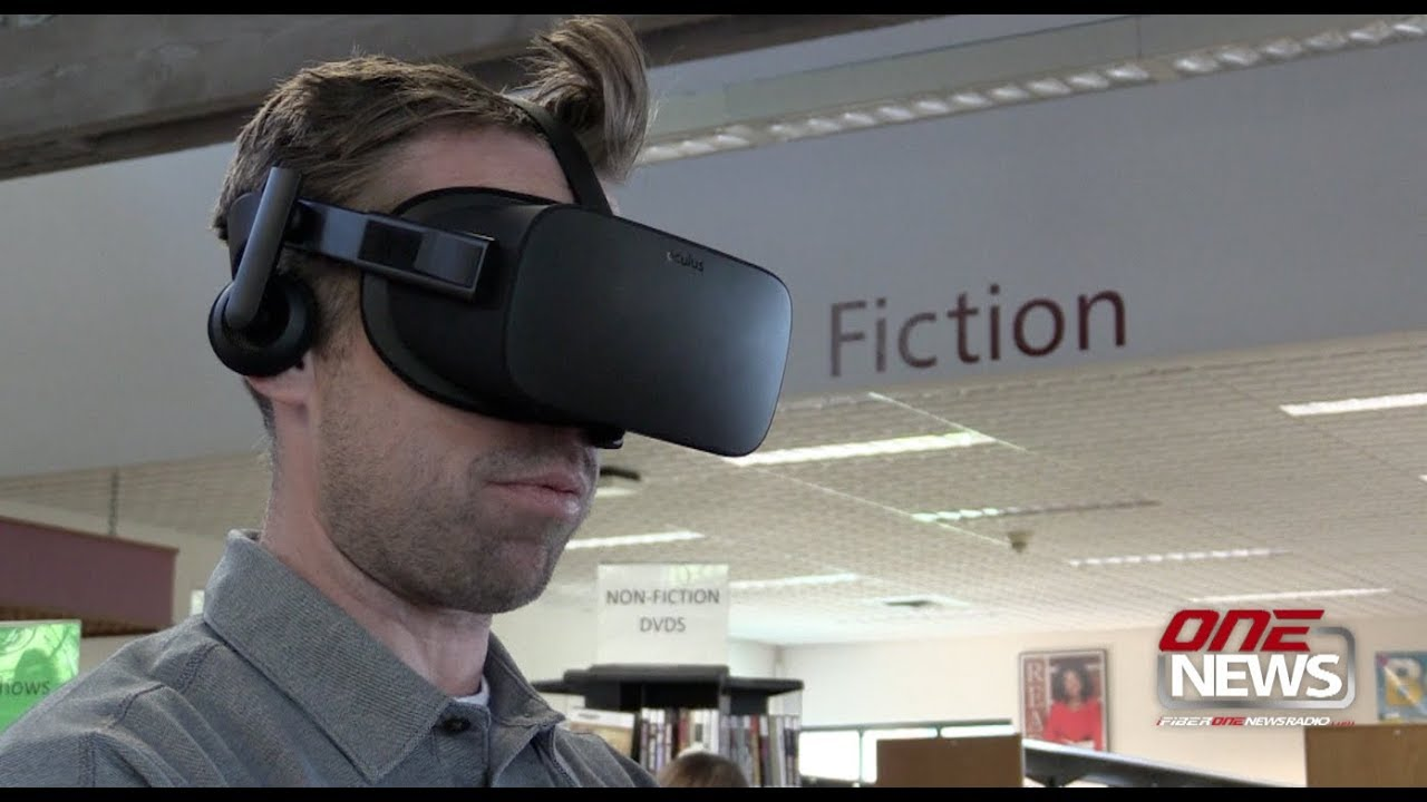 Fiber One News >> Shelton Library Enters World Of Virtual Reality Local News