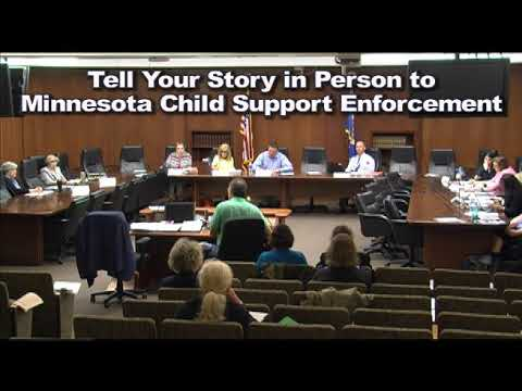 ANNOUNCEMENT: Child Support Problems in MN? Attend Task Force Mtgs - Tell Your Story!