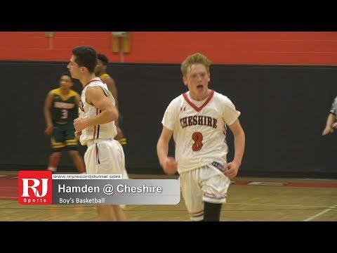 Boys Basketball: Cheshire vs Hamden