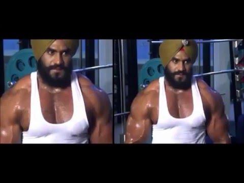 Jatt Punjabi Khalsa Gym Workout Rap - Rapper BABA KSD King Of Indian Rap 2017
