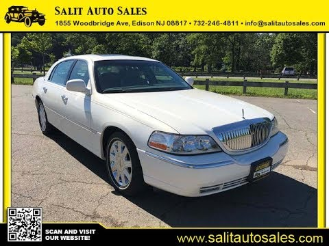Salit Auto Sales 2003 Pearl White 2003 Lincoln Town Car Cartier In Edison Nj