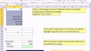 Excel 2007 / 2010 Tricks For Making Your Job Easier: HCC Professional Development Day