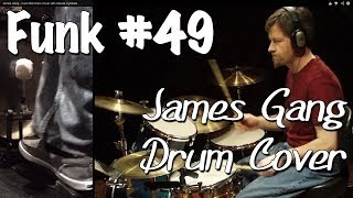 James Gang - Funk #49 Drum Cover with Saluda Cymbals