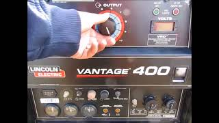 Sold! 2011 Lincoln Vantage 400 Diesel Towable S/A Welder 400A bidadoo.com
