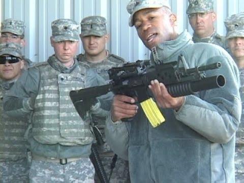 M203 Grenade Launcher Range Part 1 Of 2
