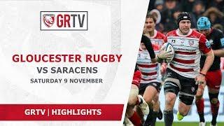 HIGHLIGHTS | Gloucester Rugby v Saracens