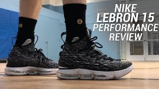 LEBRON 15 ASHES PERFORMANCE REVIEW