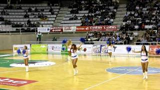 Cheerleaders C. B. Peñas Huesca 25-02-11 Sobe son