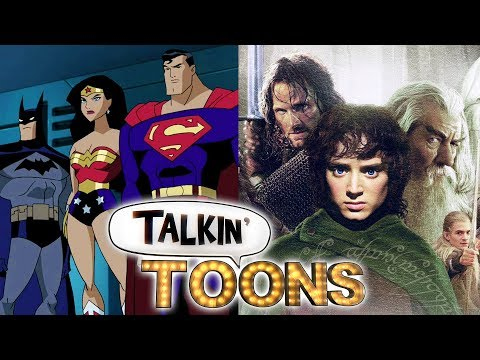 The Justice League Becomes The Fellowship of the Ring (Talkin' Toons w/ Rob Paulsen)