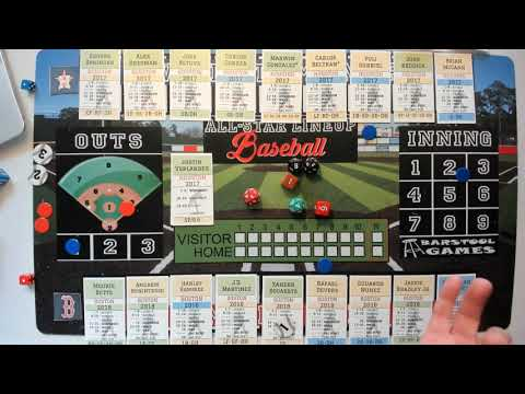 All Star Lineup Baseball | Full Game