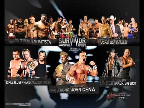 Official Theme Song Survivor Series 2008 w/ Lyrics