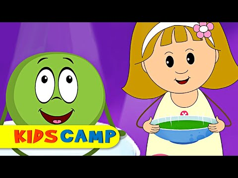 Peas Porridge Hot | Nursery Rhymes Collection for Children by KidsCamp