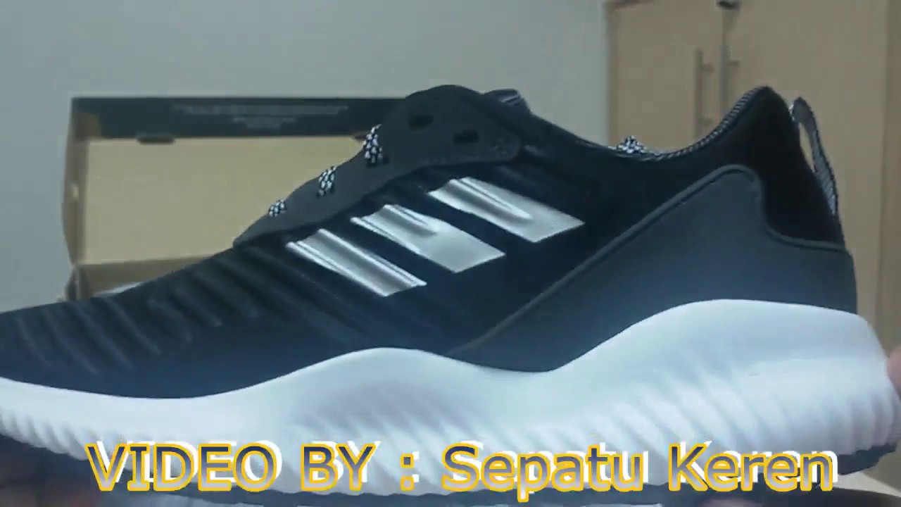 fe0cacc08 Unboxing Review sneakers Adidas Alphabounce RC M B42652 - YouTube