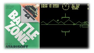 Battlezone | Commodore 64 | 1983 | Atarisoft | Bonus 1/4