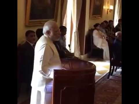 PM Modi Speech on The President  Pranab Mukherjee releasing the book 'Citizen and Society'