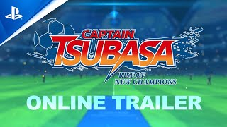 Captain Tsubasa: Rise of New Champions - Online Features Trailer | PS4